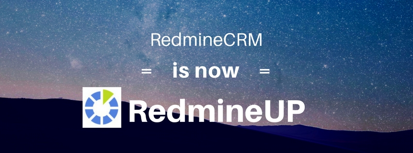Redminecrm is now RedmineUP